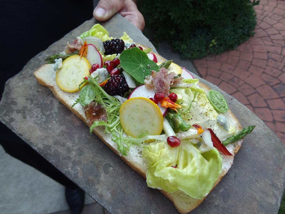 'Tea Sandwiches' by Chef Dan Borelli (source: The Mansion's FB page)